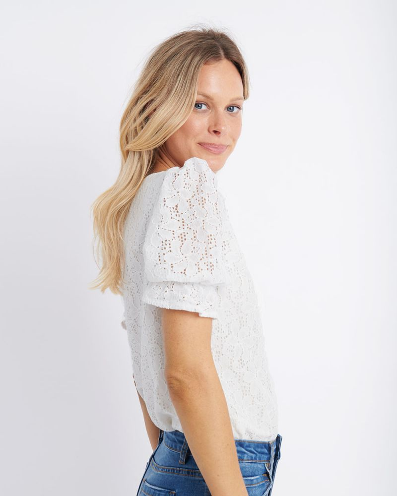 Asia Crotchet Blouse