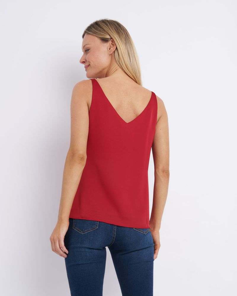 Leah Sleeveless Top