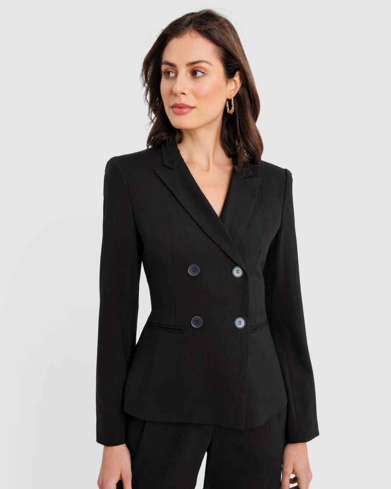 Bristol Double-Breasted Suit Jacket
