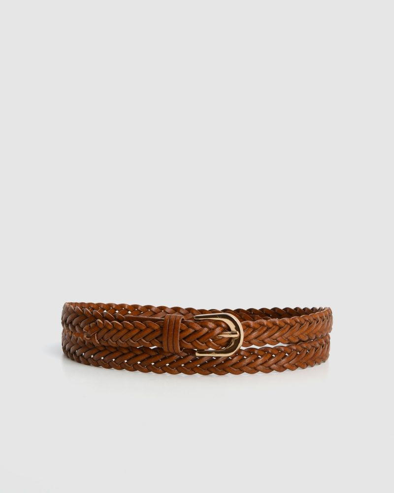 Lagos Braided Belt