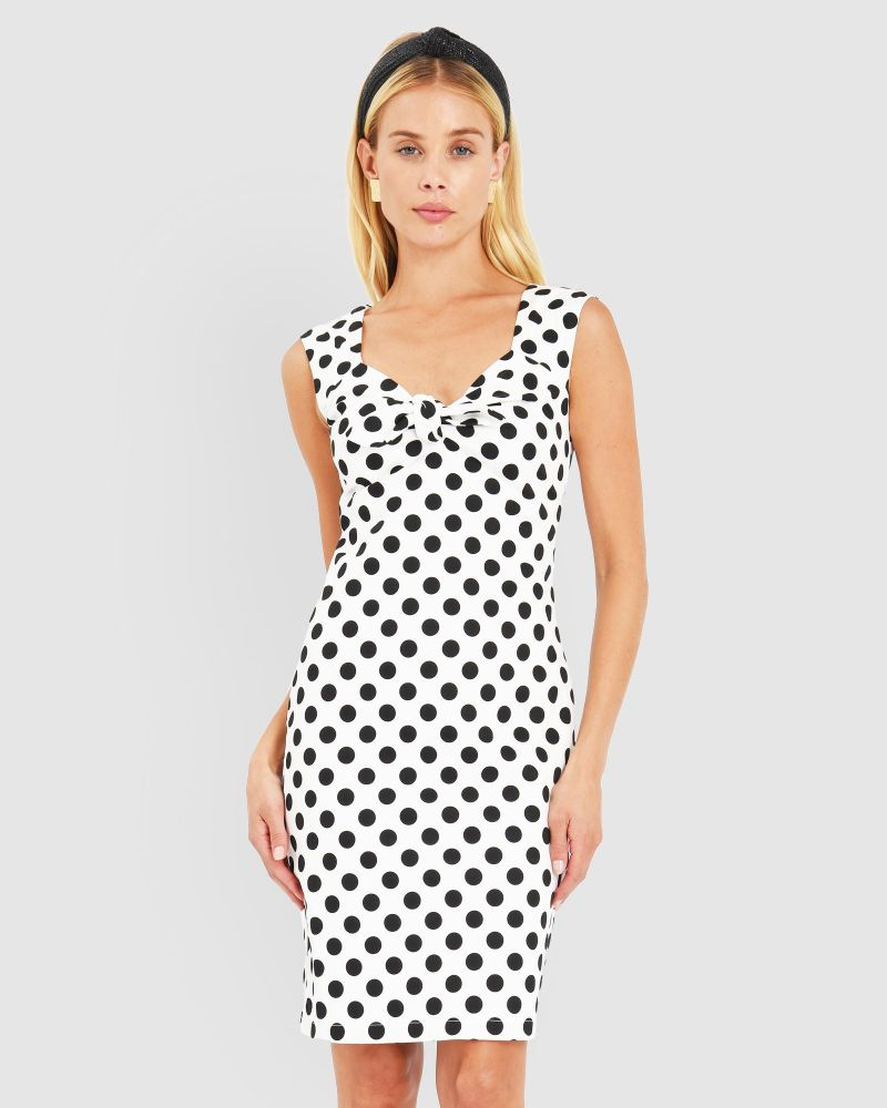 Dolly Polkadot Dress