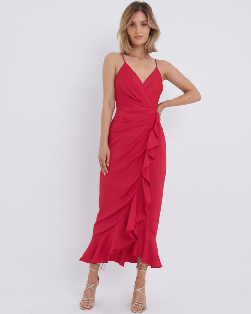 Gisele Asymmetric Maxi Dress