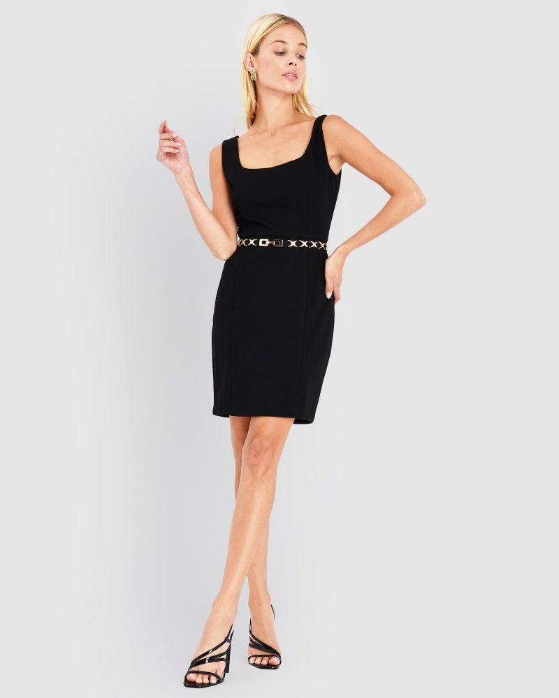 Harlow Square Neck Dress
