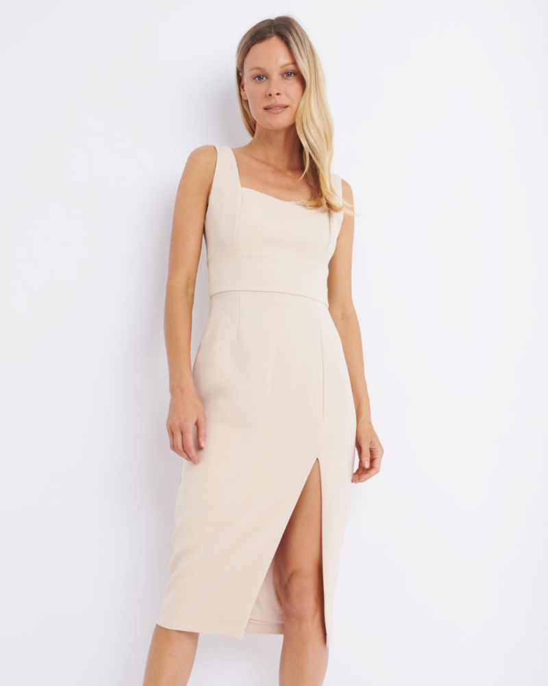 Isa Sweetheart Midi Dress