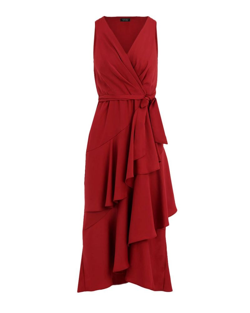 Dani Ruffle Maxi Dress