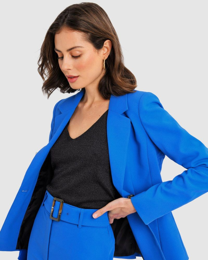 Julie Single-Breasted Blazer