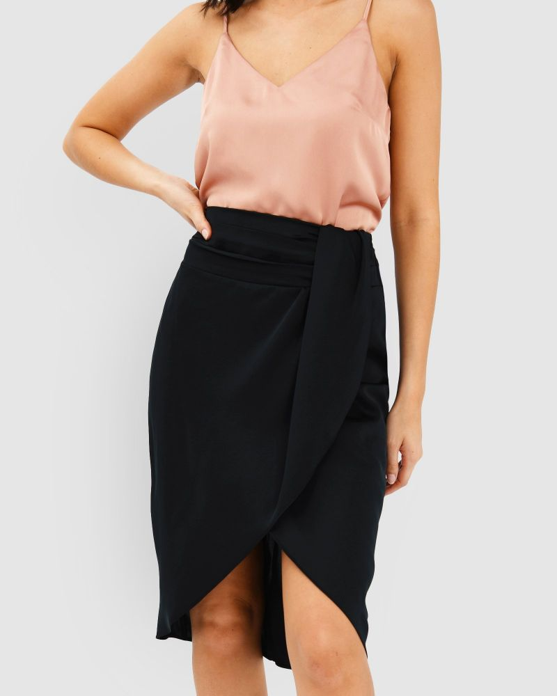 Kylie Crossover Skirt