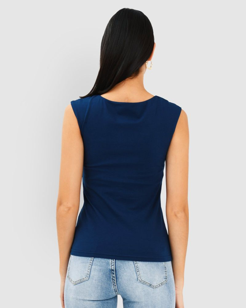 Kyra Scoop Neck Top