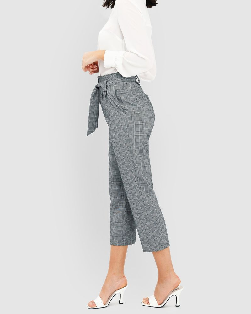 Laurel Check Pants