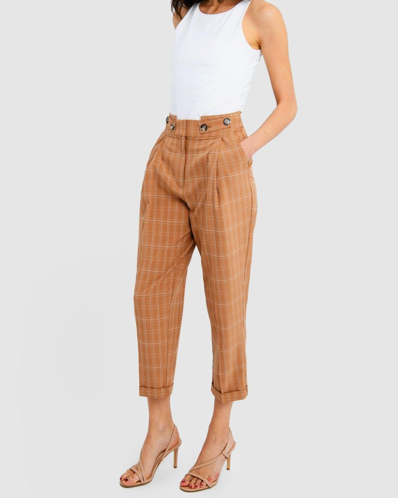 Miranda Check Pants