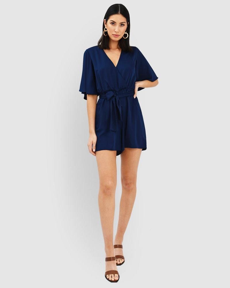 Nina Crossover Playsuit