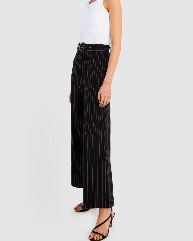 Oakley Striped Wide Leg Pants