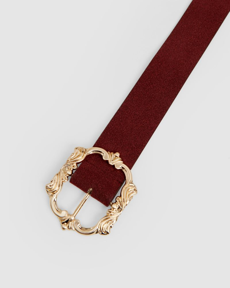 River Statement Buckle Belt