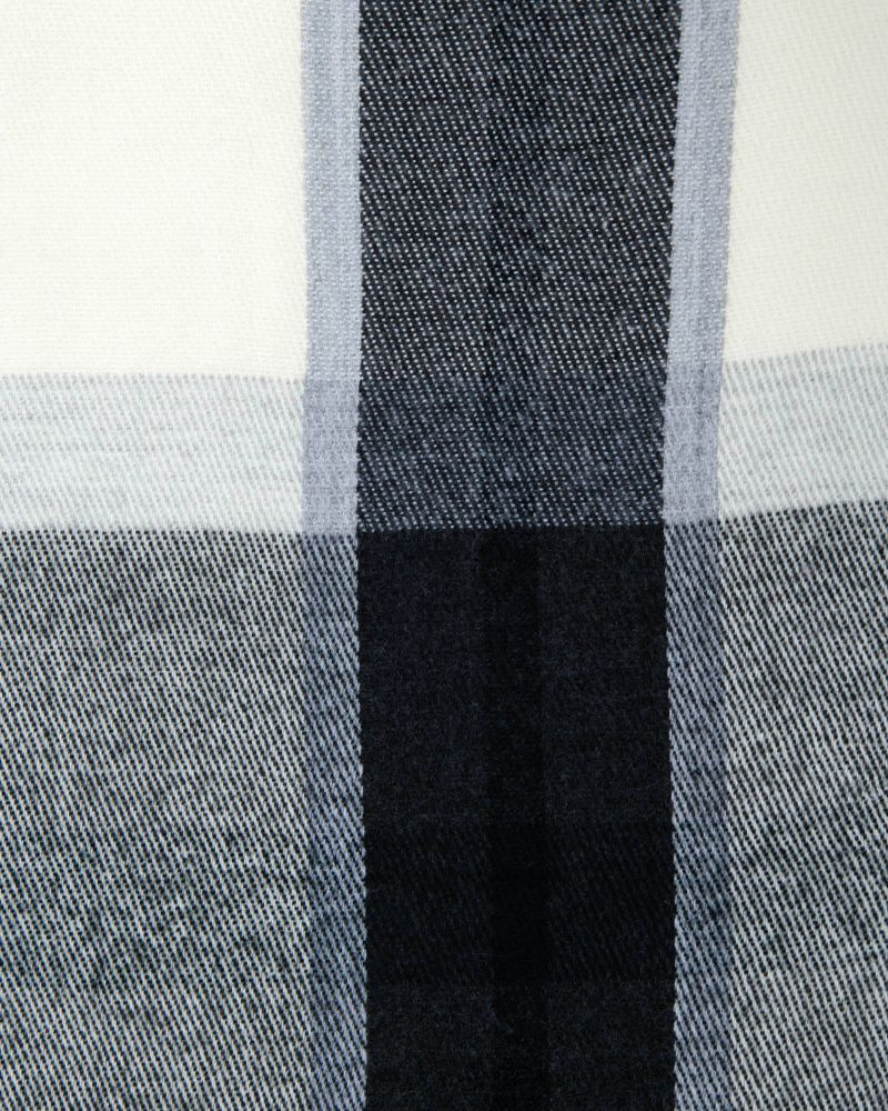 Lyn Woven Check Scarf