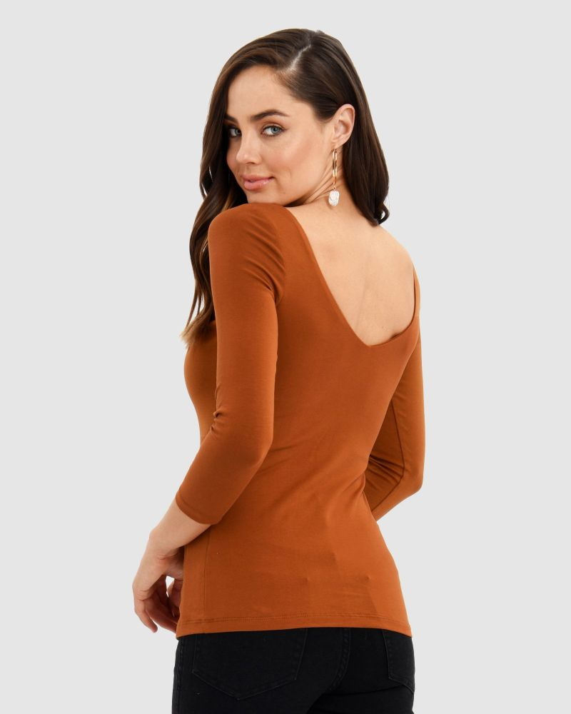 Marissa V-Back Top