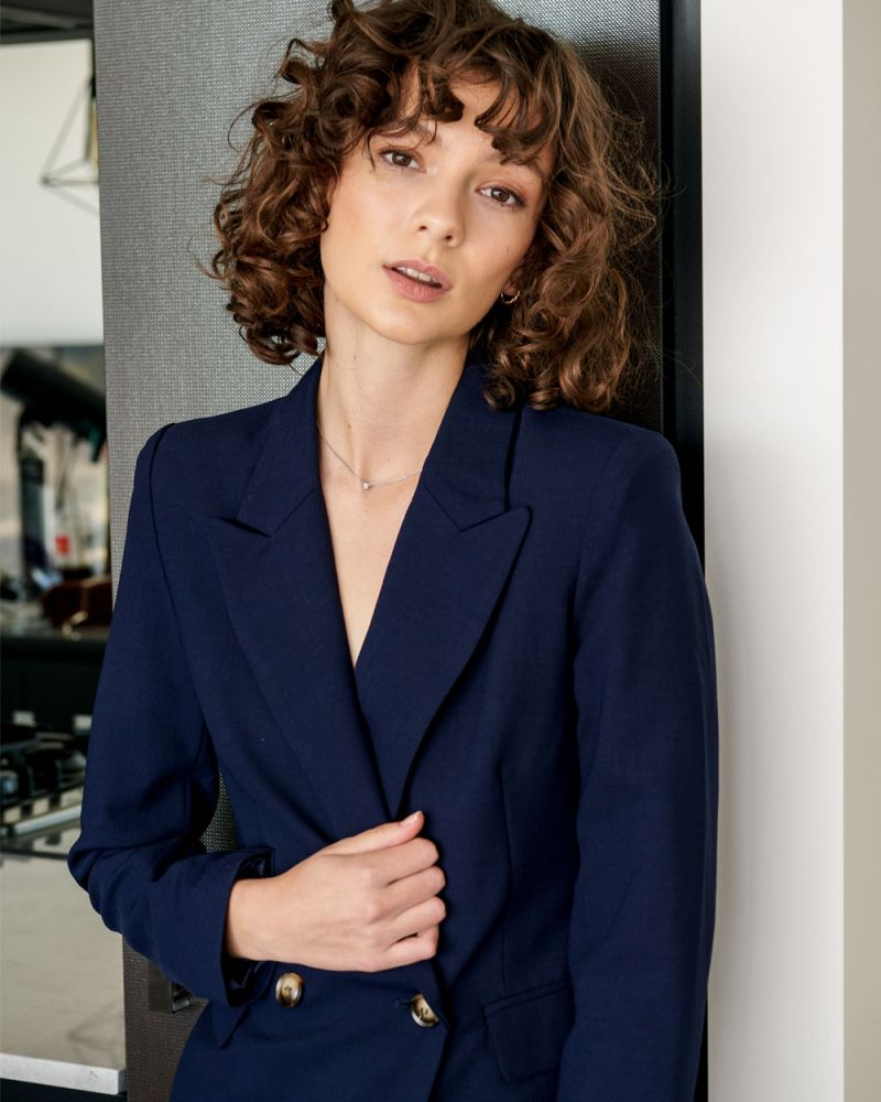 Juna Double Breasted Blazer