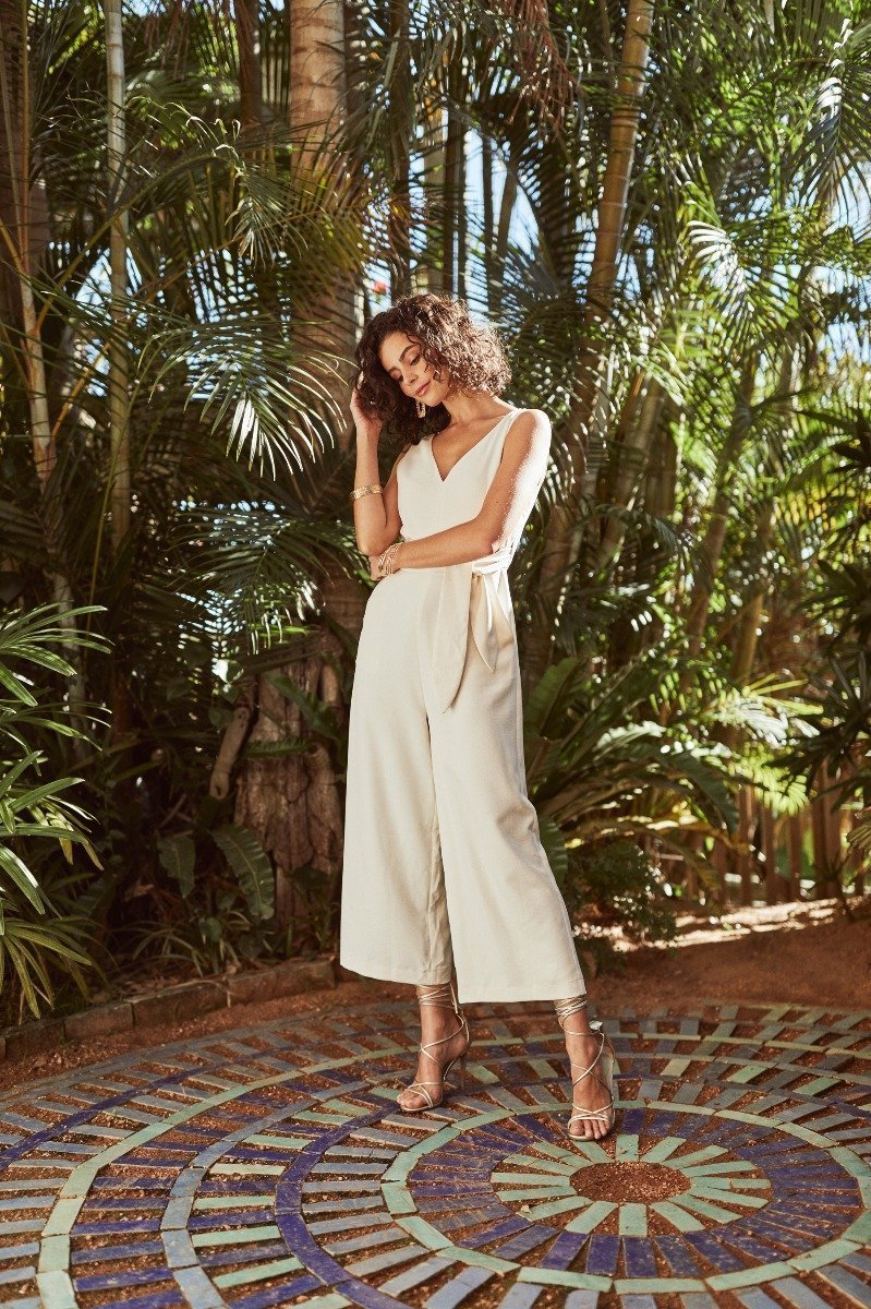 Image of Model wearing Forcast Summer 2019 Campaign Styles